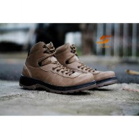 D-Island Shoes Hikers Boots Mens Leather 2 Warna