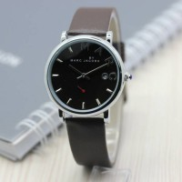Jam Tangan Marc Jacobs SK407 Leather Brown Silver