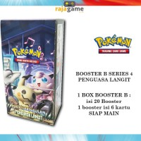 Pokemon TCG Booster Box 4B - Original (20 Booster isi 120 Kartu) as4b