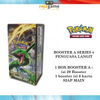 Pokemon TCG Booster Box 4A - Original (20 Booster isi 120 Kartu) as4a