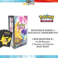 Pokemon TCG Booster Box 3B - Original (20 Booster isi 120 Kartu) as3b