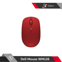Dell Optical Wireless Mouse WM126 Red