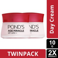TWIN PACK - PONDS AGE MIRACLE DAY CREAM 10G