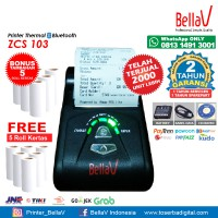 Printer Bluetooth Thermal ZCS 103 support Paytren Kudo I reap