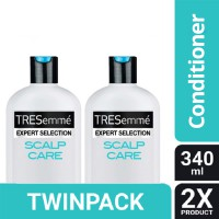 TWIN PACK - TRESEMME CONDITIONER SCALP CARE 340ML