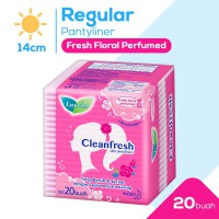 Laurier Pantyliner Cleanfresh Fresh Floral Perfumed 20S