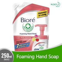 Biore Guard Foaming Hand Soap Fruity Antiseptic Refill 250 ml