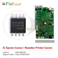 IC Eprom Canon E610, IC Eeprom Canon E610, IC Reset Counter E610
