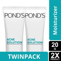 TWIN PACK - PONDS ACNE SOLUTION LEAVE-ON GEL 20G
