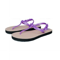 Sandal Casual / Sandal Sun Swallow Strappy Travel in Pink Violet