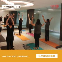 The Workout Gym One Day Visit (1 Person)