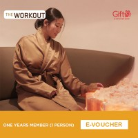 The Workout Gym One Year Member (1 Person)