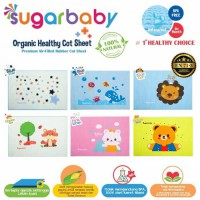 Sugar Baby Organic Healthy Cot Sheet - Perlak