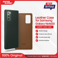 Samsung Leather Cover Casing Galaxy Note 20 - Original