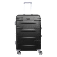 Koper hardcase Zipperless Santa Barbara 610-36 24 inch Black
