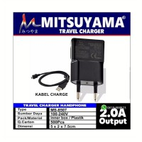 Travel Charger  Cas HP Handphone 2.0 A Mitsuyama MS-8507