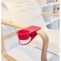 Table Coffee Cup Holder_Plastic Desk Clip Cup Holder (Klip Gelas Kopi)