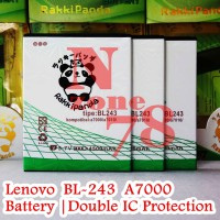 Baterai Lenovo A7000 K3 Note Bl243 Double Ic Protection