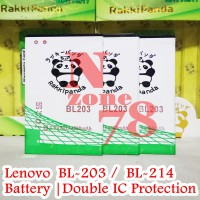 Baterai Lenovo A316 A369 A369i BL203 BL214 Double IC Protection