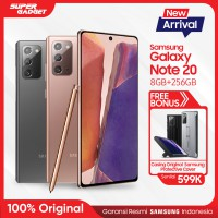 Samsung Galaxy Note 20 8GB/256GB Free Protective Cover Original - Garansi Resmi