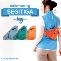 Triangle Bag Tas Travel Segitiga Tas Multifungsi Segitiga