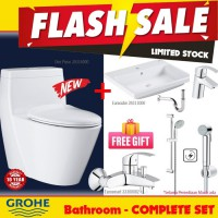 Grohe Flash Sale Smart Package Bathroom Limited Stock free gift
