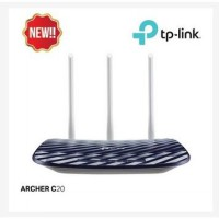 TP-LINK ARCHER C20 AC750 Wireless Dual Band Router - Black