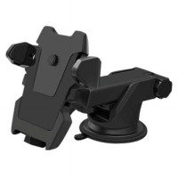 Car Holder for Smartphone with Suction Cup - Black