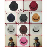 D & D Hat Collection Topi Fedora Tompi Jazzy Anak