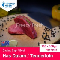 Daging Sapi Import AUS / Tenderloin Steak  (140 gram)