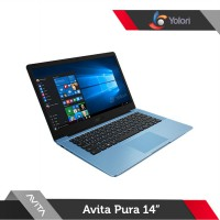 Avita Pura 14 [A9-9420E, 4GB, 256GB, AMD R5, Windows 10, Crystal Blue]