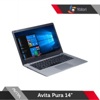 Avita Pura 14 [R5-3500U, 8GB, 512GB, AMD Vega 8, Windows 10, Space Grey]