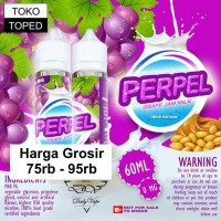 Perpel by Daily Vape | Grape Jam Milk | Premium Liquid 0mg 60ml lokal