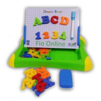 Mainan Edukatif / Edukasi Anak - Magnetic Learning Case Drawing Board