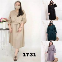 BAJU BIGSIZE MURAH - DRESS ALTAIRA JUMBO (1731-DS)