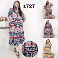 BAJU BIGSIZE MURAH - DRESS ALIFIA JUMBO (1727-DS)
