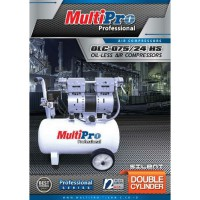 Oil-Less Air Compressors 3/4HP OLC-075/24HS MULTIPRO