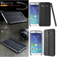 Samsung Galaxy J7 J700 Imak Vega Case Casing Cover with Tempered Glass
