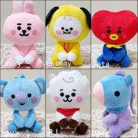 Boneka BT21 BTS Unofficial Cute Model Baby Sitting Ukuran Kecil