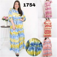 BAJU BIGSIZE MURAH - DRESS KADI JUMBO (1754-DS)