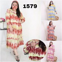 BAJU BIGSIZE MURAH - DRESS SHIG JUMBO (1579-DS)