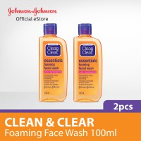 Clean and Clear Foaming Face Wash 100ml - 2 pcs