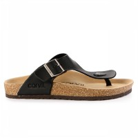 Carvil Sandal Footbed Man Jaden-01 Black
