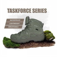 Sepatu Lowa 6.0 Gearskin Tactical Boots Shoes Green Import