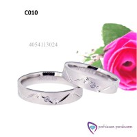 Cincin Couple Sterling SIlver 925 Cincin Tunangan Cincin Kawin Couple