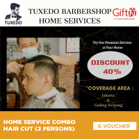 Home Service Combo Hair Cut (2 Persons)