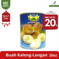 Buah Kaleng Peace Longans In Syrup - Thailand