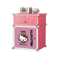 Nakas Hello Kitty Nakas Kartun Hello Kitty Rak Laci Portable Multifungsi