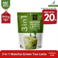 Ranong Tea 3 In 1 Matcha Green Tea Latte - 4 Sachets