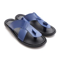 2Colors Dr. Kevin Men Sandals 17166 Blue,Tan